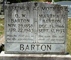 Oliver W Barton