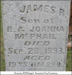 James R McPhail