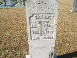 Frances Fannie <i>Hayes</i> Williams