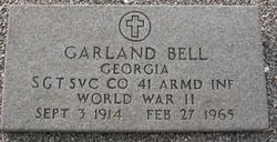 Sgt Garland Bell