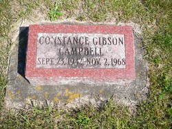 Constance <i>Gibson</i> Campbell