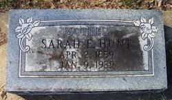 Sarah Ellen <i>Box</i> Hunt