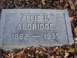 Allie L <i>Gillingham</i> Aldridge