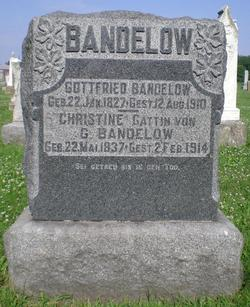 Christine G <i>Stuemke</i> Bandelow