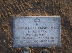 Gordon D Ammerman