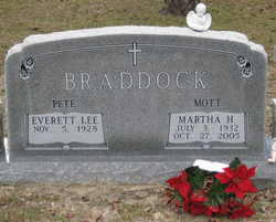 Martha H. <i>Mott</i> Braddock