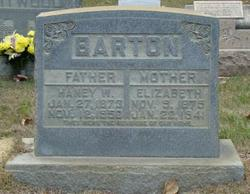 Sarah Elizabeth <i>Sloan</i> Barton