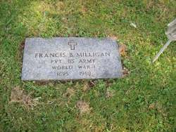 Pvt Francis Briggs Frank Milligan