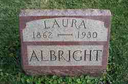 Laura M. <i>Reagan</i> Albright