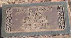 Alveda <i>Jessop</i> Black