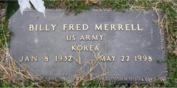 Billy Fred Merrell