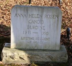 Anna Helen <i>Rosen</i> Burdine
