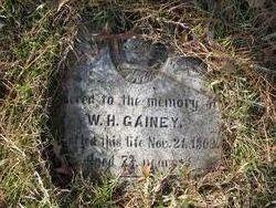 Pvt William H. Gainey