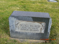 Agnes <i>Tuttle</i> Allred