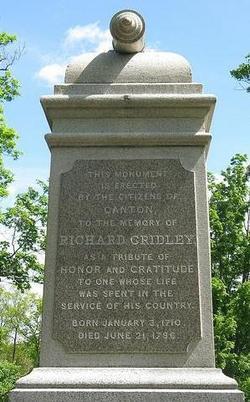 Gen Richard Gridley