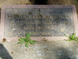 Marien D Blackburn