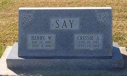 Henry William Harry Say