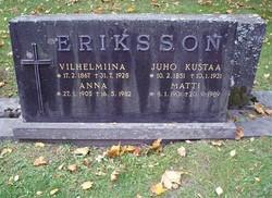 Juho Kustaa Eriksson