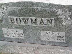 Mary M. Bowman