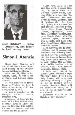 Simon Jose Atencio