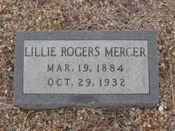 Lillie Mae <i>Rogers</i> Mercer