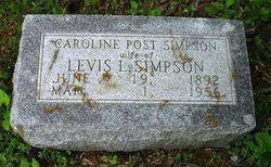 Caroline <i>Post</i> Simpson