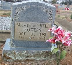 Mamie Myrtle <i>Campbell</i> Bowers