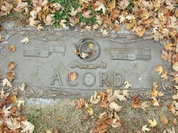 Esther Marie <i>Lewis</i> Acord