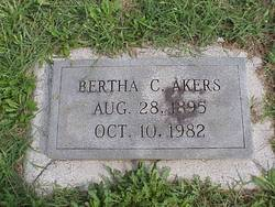 Bertha <i>Cummings</i> Akers