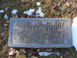 Caroline <i>Clary</i> Alexander