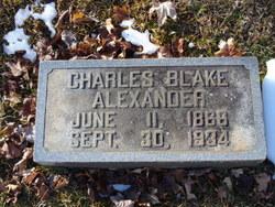 Charles Blake Alexander