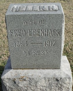 Helen R Ella <i>Scott</i> Ebenhack