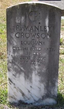 R. Manley Crowson