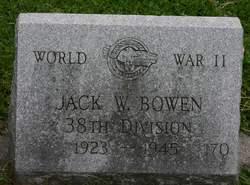 PFC Jack W. Bowen