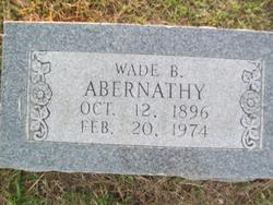 Wade Bell Abernathy, Sr