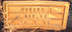 Howard Yates Barlow