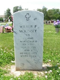 Wilbur P McKinsey