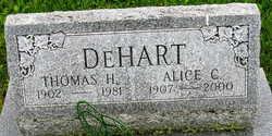 Alice Carrie <i>Wagner</i> DeHart