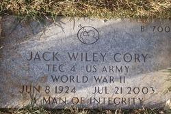 Jack Wiley Cory
