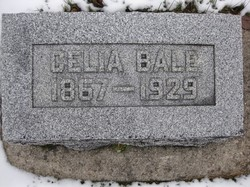 Celia Elizabeth <i>Barker</i> Bale