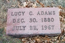 Lucy Gill <i>Clark</i> Adams