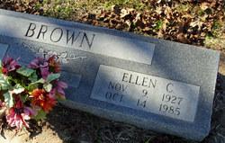 Ellen C <i>Whiteley</i> Brown