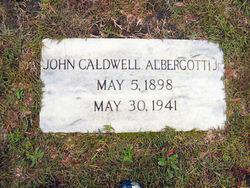 John Caldwell Albergotti, Jr