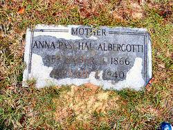 Anna Louise <i>Paschal</i> Albergotti