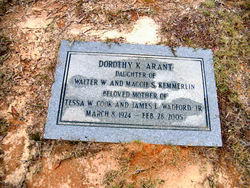 Dorothy <i>Kemmerlin</i> Arant