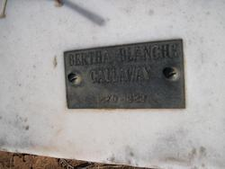 Bertha Blanche Callaway
