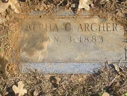 Alpha Cecile <i>Johnson</i> Archer
