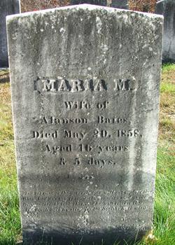 Meranda Maria <i>Burr</i> Bates