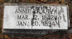 Annie Lila <i>McCree</i> Ivy