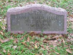 Agnes Mallie Leech